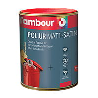 Эмаль Poliur Matt-Satin Solvent Based