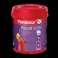 Эмаль Poliur Satin Water Based