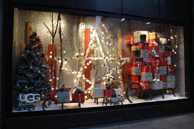 Новогодние витрины